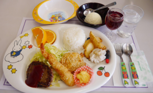 Kid's Plate 1,300YEN only for child