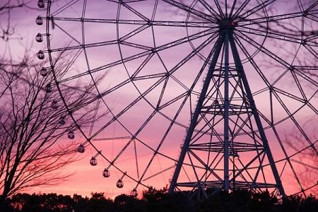 Diamond and Flower Ferris Wheel2