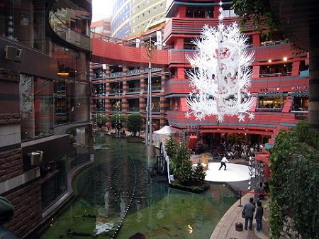 Canal City in Fukuoka